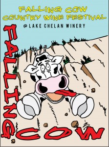 lake chelan winery, falling cow festival,